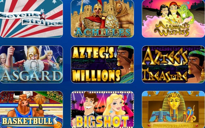 las atlantis collection of video slots