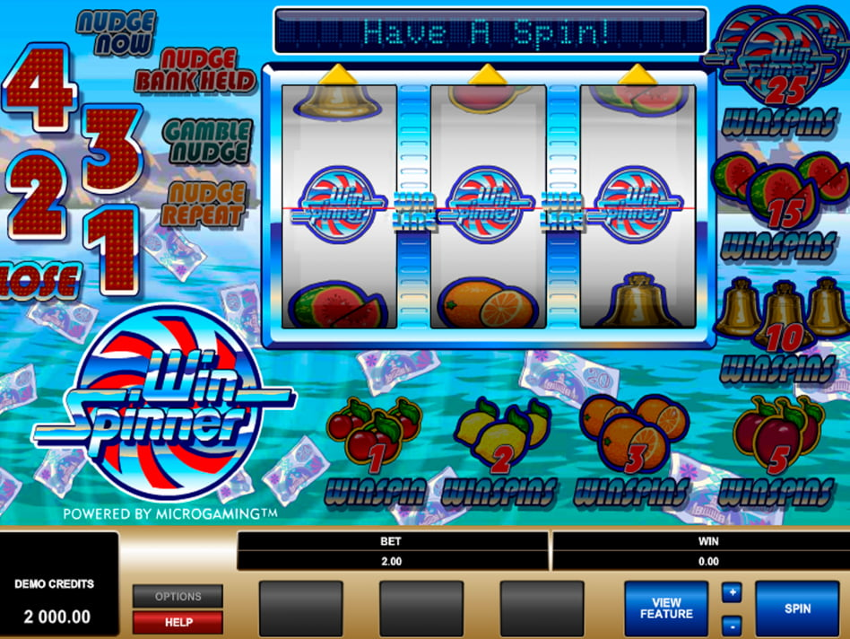 win spinner microgaming