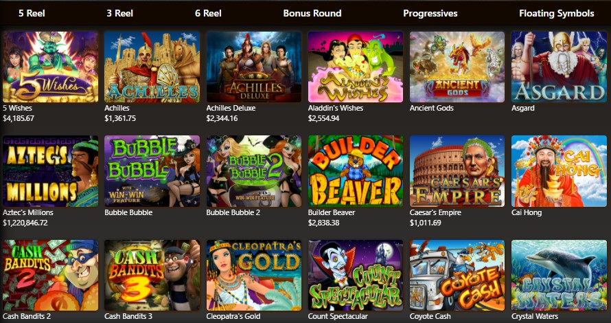 casinomax collection of games